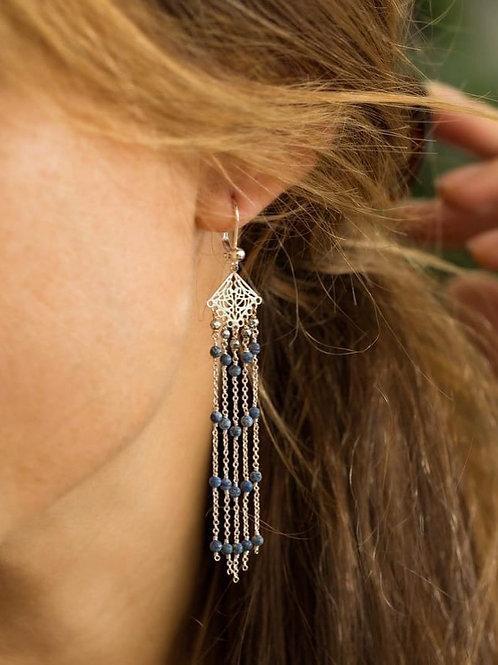 Boucles d'oreilles BERENICE (or ou argent)
