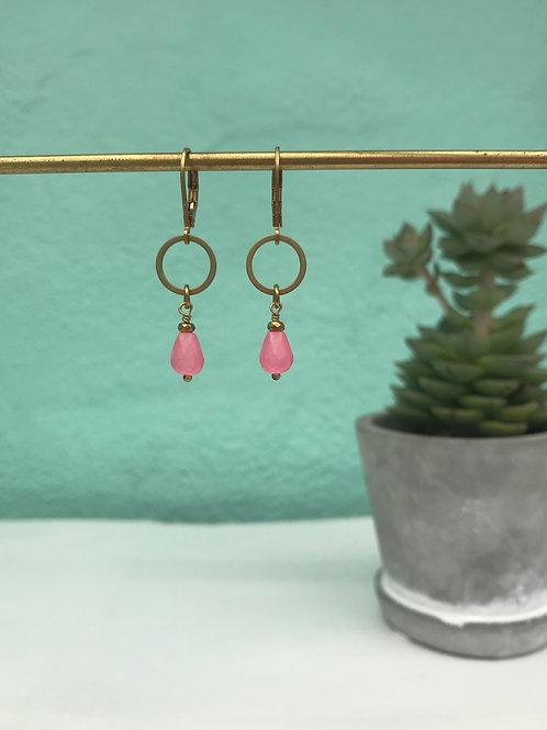 Boucles d'oreilles Little Pink