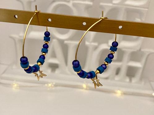 Créoles VENUS (Blue)