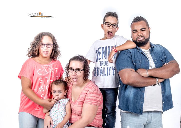 Séance photos en famille