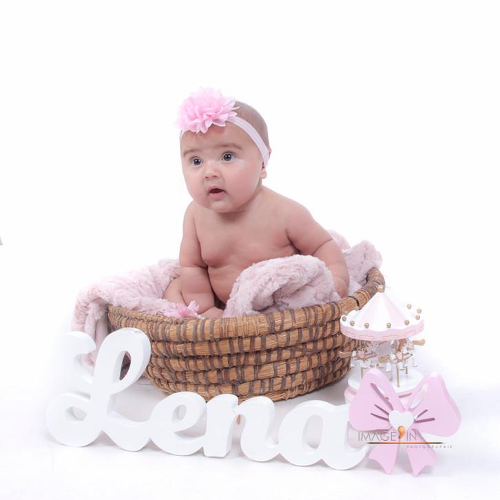 Léna, 5 mois - Séance bébé