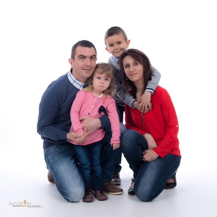 Séance famille de Clément, Chloé et leurs parents