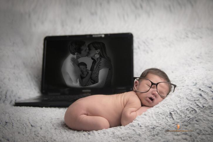 Kellian - Séance photos naissance