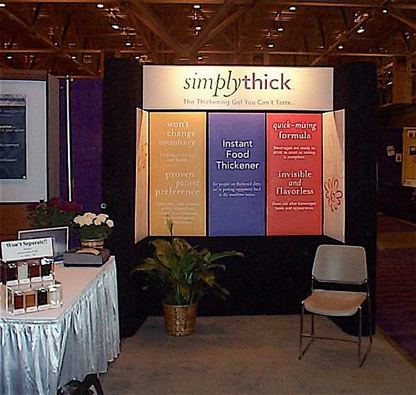 SimplyThick at the 2001 American Dietetic Association convention in St. Louis, MO