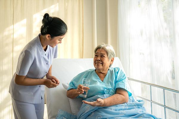 Caregiving mixing SimplyThick