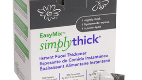 SimplyThick® launches Slightly Thick (IDDSI Level 1) individual packets.