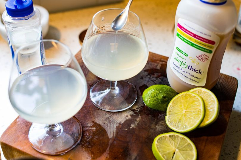 Add a touch of texture to the traditional Gimlet and it will completely reinvent your cocktail.