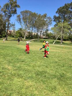 Soccer clinnic