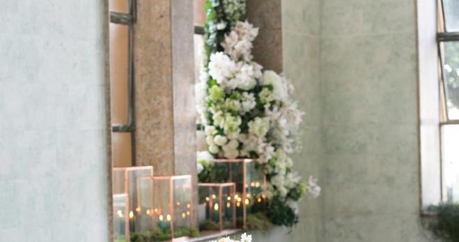 registration of the Presidium of the bride and groom