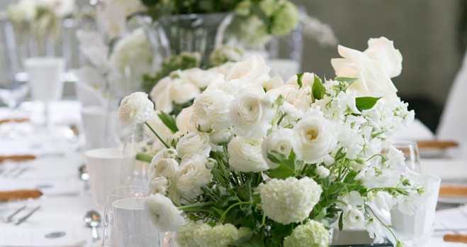 compositions of fresh flowers