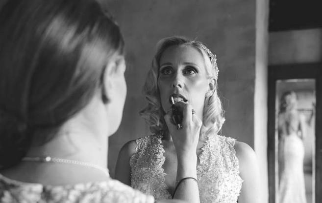 Make-up bride