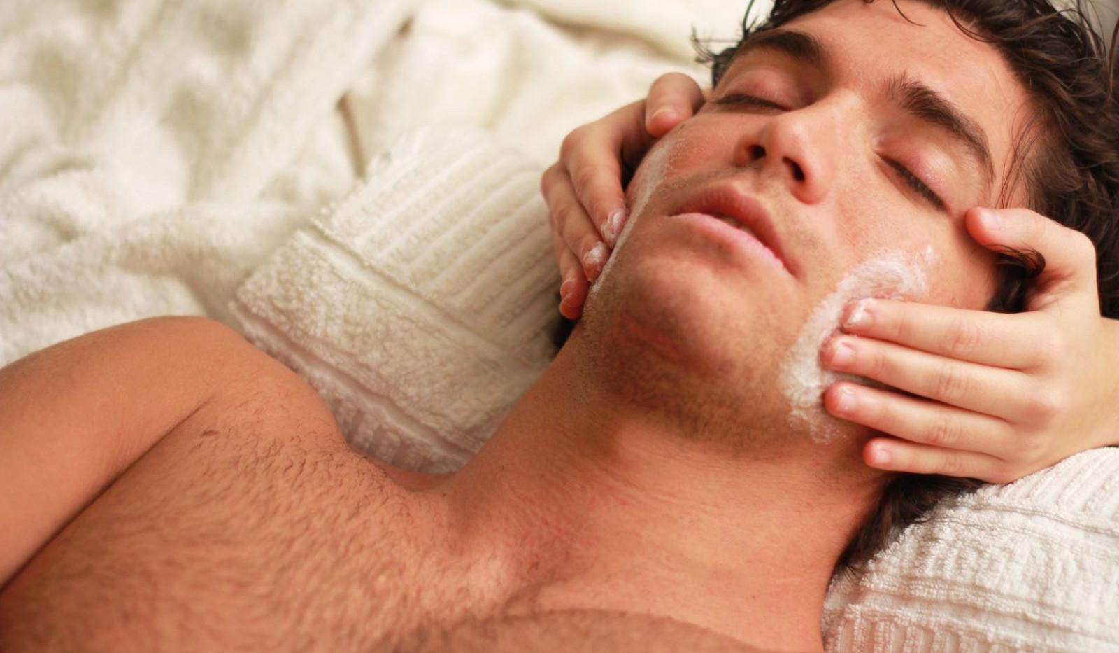 массаж лица для мужчин