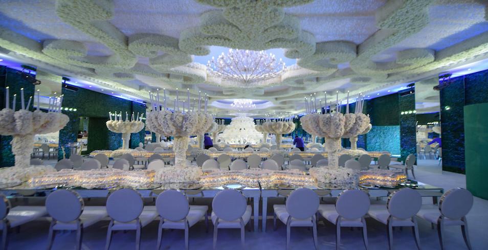 luxury wedding decoration