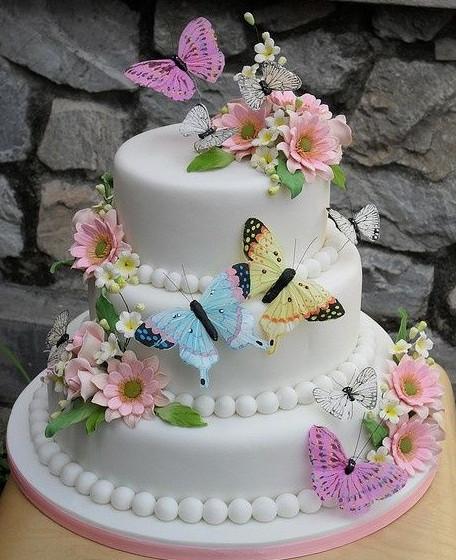 Wedding_cake. Свадебный торт в подарок от агентства Mon Amour, с любовью!