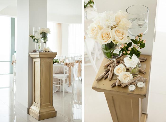 elements of wedding decor