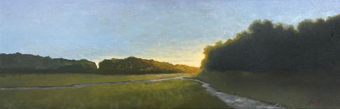 Approaching Dusk - 10x30_ - Oil on Canvas - Available.jpg