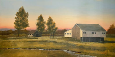 Gettysburg Sunset - 12x24_ - Oil on Canvas - Available.jpg
