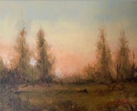 Edge of the Clearing Study - 8x10_ - Oil on Canvas - Available.jpg