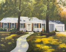 Home Sweet Home  14x18 Oil on Canvas SOLD.JPG