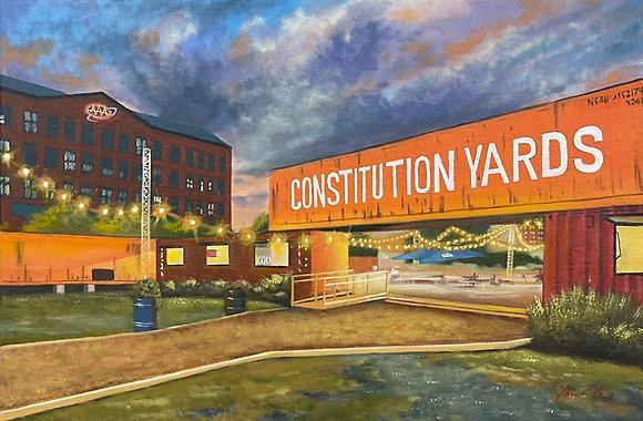 Constitution Yard Beer Garden - Wilmington, DE