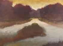 Fork in the River Study - 9x12_ - Oil on Canvas - Available.jpg