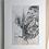 Thumbnail: Modliszka - reprodukcja w passe-partout