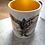 Thumbnail: Motyl - kubek ze złotym wnętrzem