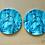 Thumbnail: Komplet 2 podkładek ceramicznych - JAPONKA