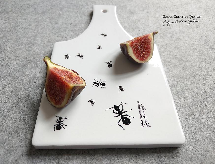 """Deska ceramiczna do serwowania """"Mrówki"""""""