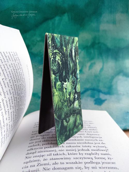 Bańkowa Panienka - zakładka magnetyczna do książki