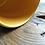 Thumbnail: Mrówki - kubek ze złotym wnętrzem