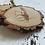 Thumbnail: Podkładka drewniana - Mucha