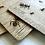 "Thumbnail: Komplet 3 drewnianych podkładek pod kubki ""Mrówki"""