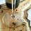 Thumbnail: Deska degustacyjna akacjowa z grawerem - Mrówki
