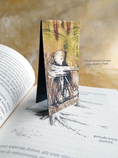 Włóczykij - zakładka magnetyczna do książki