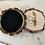 Thumbnail: Podkładki drewniane - Mucha (komplet)