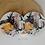 Thumbnail: Komplet 2 podkładek MDF z korkiem - Lepidoptera