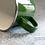 """Thumbnail: Zielony, metalowy kubek """"Mrówki"""""""