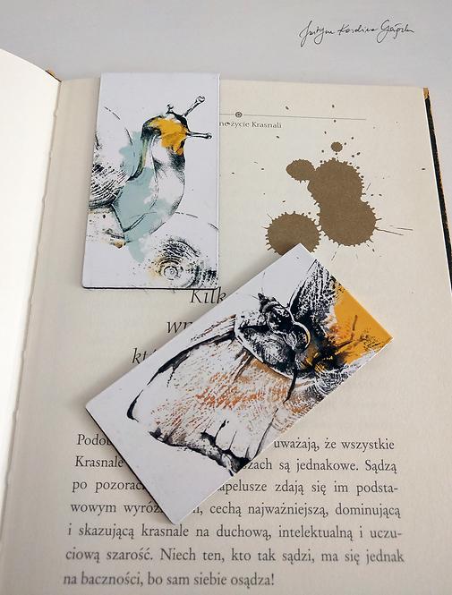 Zestaw 2 zakładek magnetycznych do książki