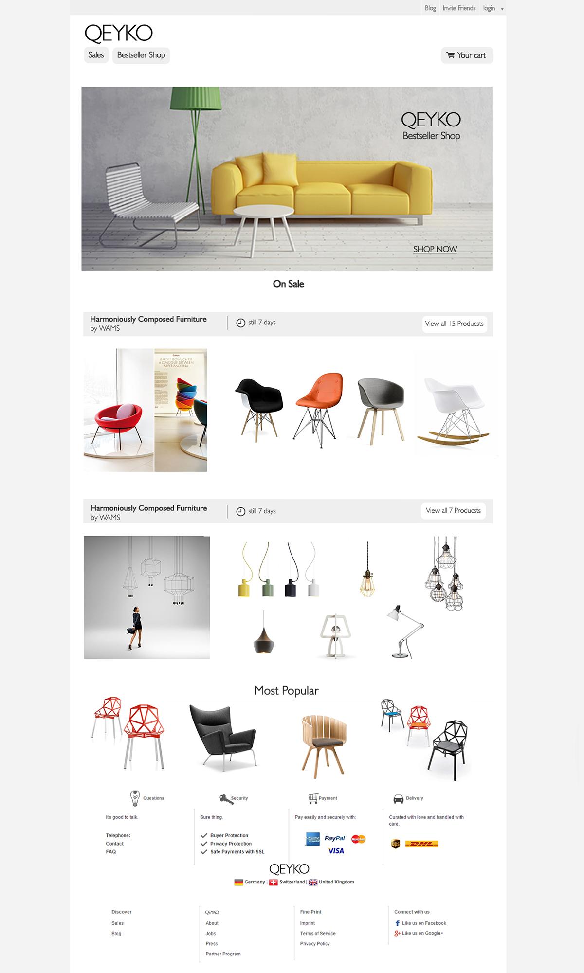 QEYKO - layout www