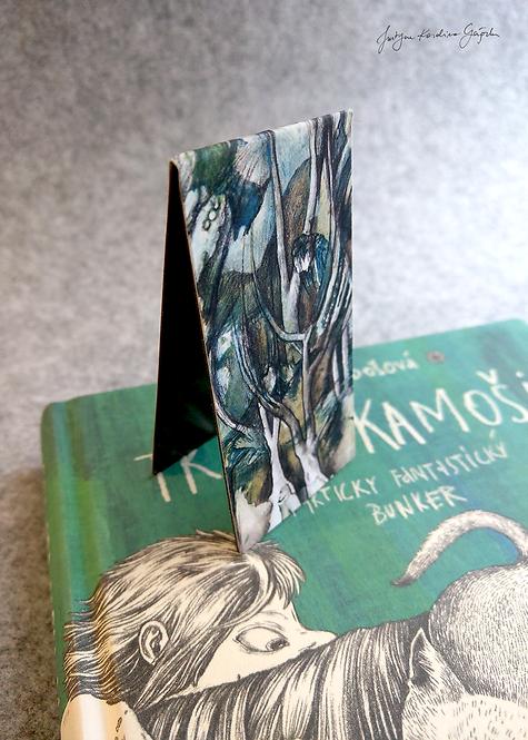 Zakładka magnetyczna do książki - Gąszcz
