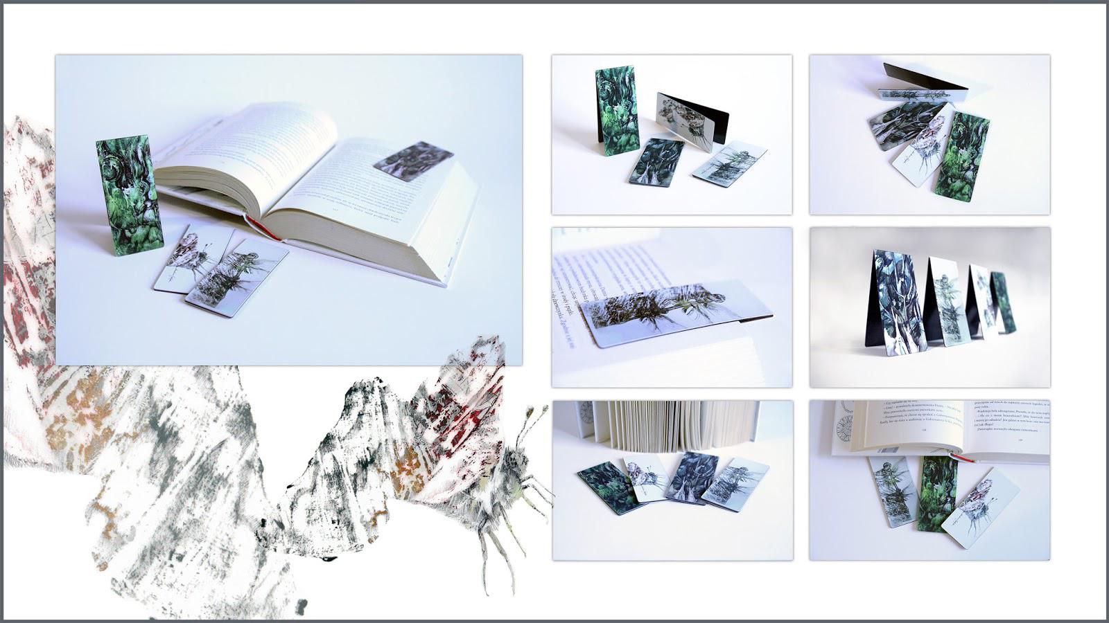 Zakładki magnetyczne do książek