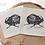 Thumbnail: Podkładki z materiału pod kubek - komplet