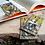 Thumbnail: Włóczykij - zakładka magnetyczna do książki