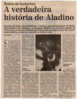 A verdadeira história de Aladino