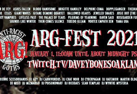 ARG-FEST New Years Day Streaming Fest