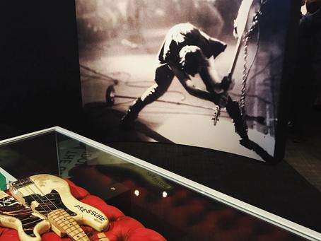Paul Simonon's Smashed P-Bass On Display At London Museum