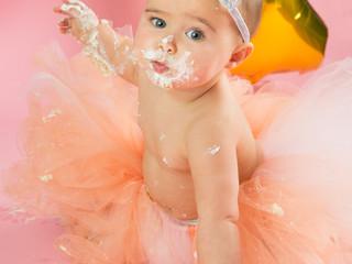 Olivia's cake smash!