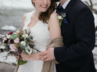 Majestic Winter Wedding in Upstate New York