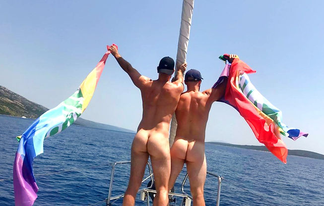 Gay sailing in Croatia